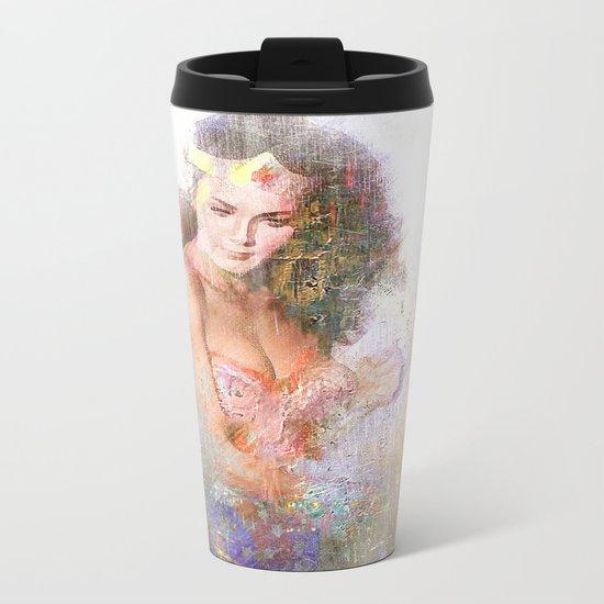 La chica maravillosa Metal Travel Mug