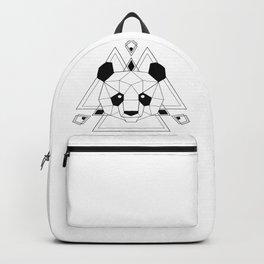 Panda geometric Backpack