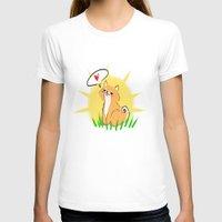shiba T-shirts featuring Guapo the Shiba by Corpus Ren