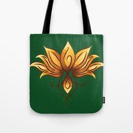 The yellow loto Tote Bag