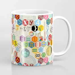 Math in color (little) Coffee Mug