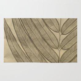 Naturalist Leaf Rug
