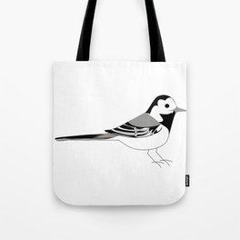 Västäräkki / White Wagtail Tote Bag