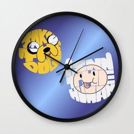 Finn the Human and Jake the Dog Wall Clock