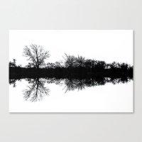 mirror Canvas Prints featuring Mirror by Mark Alder