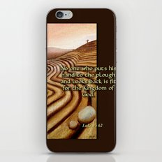 The Plough iPhone & iPod Skin