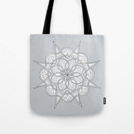 Mandala Spiral Tote Bag