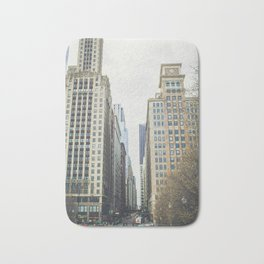 Chicago street Bath Mat