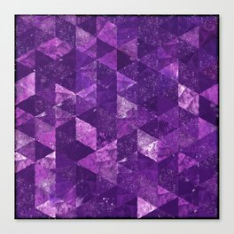 Abstract Geometric Background #35 Canvas Print
