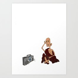monk music Art Print