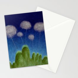 Hills and Clouds Stationery Cards