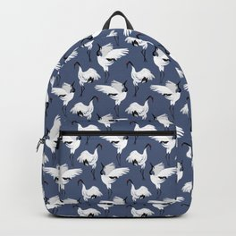 Crane Ballet - Blue Backpack