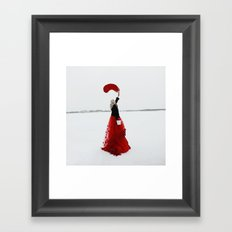You colour your own path Framed Art Print