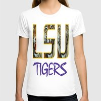 decal T-shirts featuring LSU NEW DECAL by The Greedy Fox