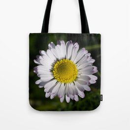 Up Close with Daisy Tote Bag