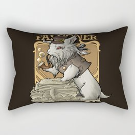 Professooor Falconer  Rectangular Pillow