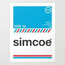 simcoe single hop Art Print