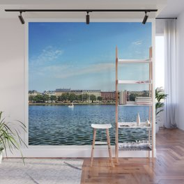 The Lakes Wall Mural