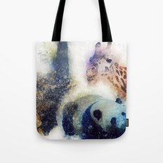 Animals Painting Tote Bag
