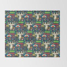 Magical Music Machine Throw Blanket