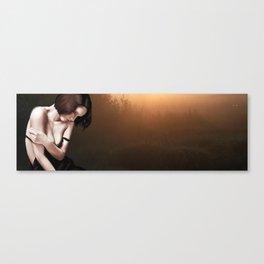 A Quiet moment Alone? Canvas Print