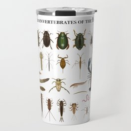 Freshwater Macroinvertebrates of the PNW Travel Mug