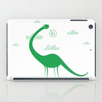 dinosaur iPad Cases featuring Dinosaur by Cody Bond