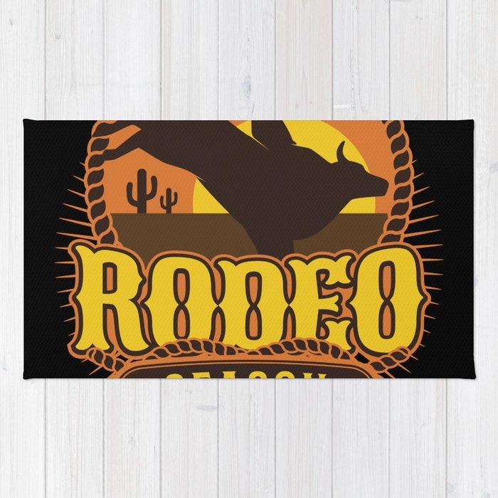 Rodeo Season Rug