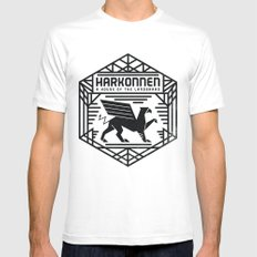 HOUSE HARKONNEN CREST White X-LARGE Mens Fitted Tee