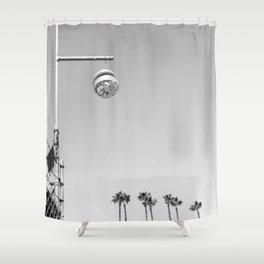 Silver Lake Ball Shower Curtain
