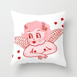 Lolly Dolly Throw Pillow
