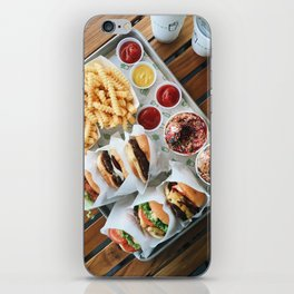 Shake Shack Burgers iPhone Skin