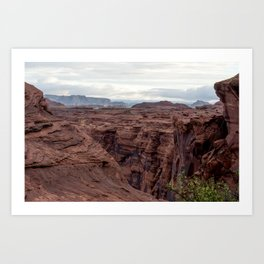 Walls of the Canyon Art Print