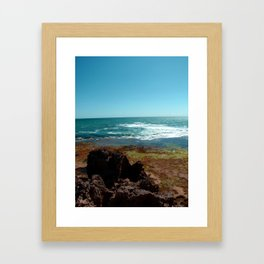 Blairgowrie Rock Pools Framed Art Print