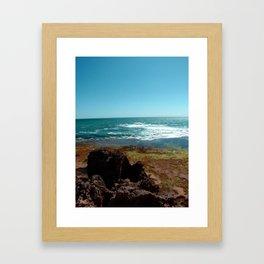 Blairgowrie Rock Pools Framed Art Print