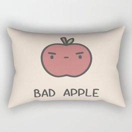 Bad Apple Rectangular Pillow