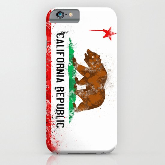 California Flag iPhone & iPod Case