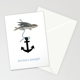 Anchors aweigh! Stationery Cards