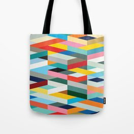 Modern Geometric Pattern Tote Bag