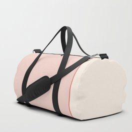 Subtle Spring Color Block Duffle Bag