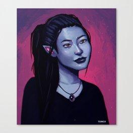 Portrit of Amara Canvas Print