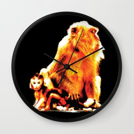 The Protector Wall Clock