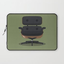 Lounge Chair - Charles & Ray Eames Laptop Sleeve
