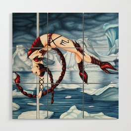 Pole Stars - SCORPIO Wood Wall Art