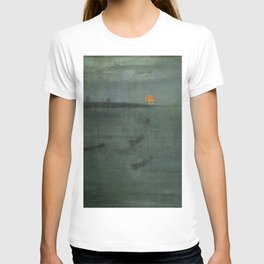 Nocturne - Blue and Gold, Southampton Water by James McNeill Whistler T-shirt