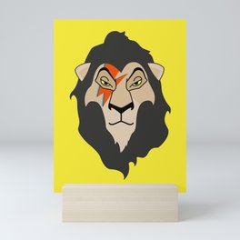 The Bowie King Mini Art Print