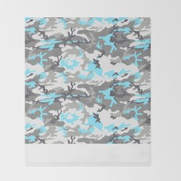 coldcamo Throw Blanket