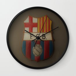 FCB Logo Wall Clock