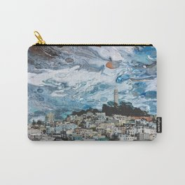 Starry Coit Tower Carry-All Pouch