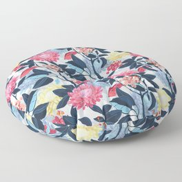 Beautiful artistic floral pattern Floor Pillow